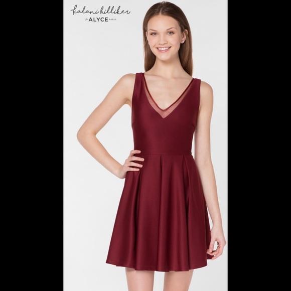 1f57bb5017e Kalini Hilliker for Alyce V Neck Dress Large NWT